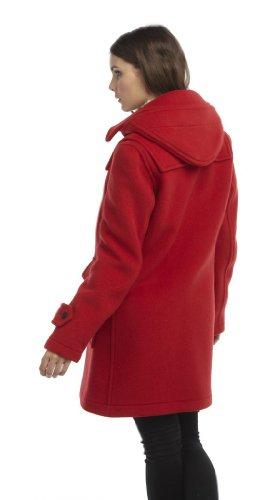 Luxury Duffle London Femme Montgomery Original Rouge srQhtd