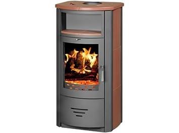 Estufa de leña chimenea moderna Log quemador estufa para madera, nuevo 7 kW: Amazon.es: Bricolaje y herramientas