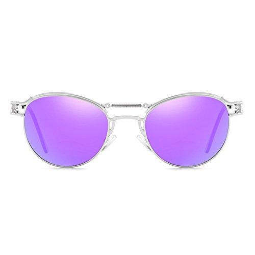 Revêtement Steampunk pour Metal femmes les hommes Vintage Vintage junkai soleil C6 lunettes de Hqwxnt584