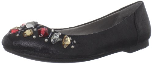 Gilia Multi Yellow Box Ballet Women's Black EOaOT