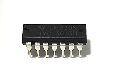 Texas Instruments LM339N LM339 Low Power Quad Voltage Comparators Pack of 1