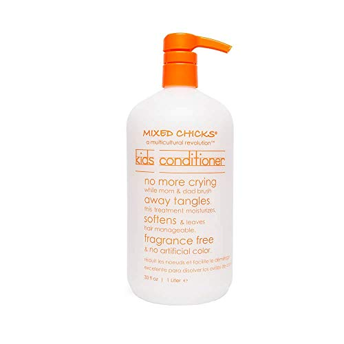 Mixed Chicks Gentle Kids Conditioner with Safflower Seed Oil for Soft & Manageable Hair, 33 fl.oz (Mixed Chicks Cheap)