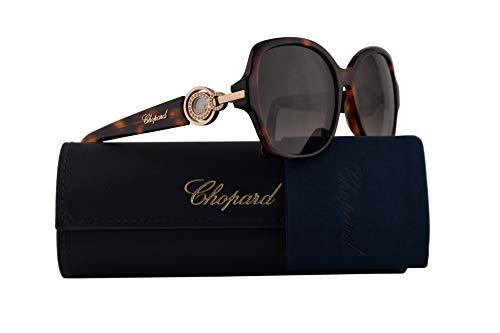 Chopard SCH206S Sunglasses Brown Havana w/Brown Gradient Lens 56mm 0748 SCH 206S ()
