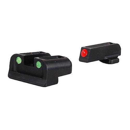TRUGLO Fiber Optic Handgun Sight Set - Springfield XD, XDM, XDS