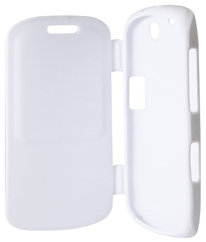 Exian BlackBerry Curve 9350 / 9360 / 9370 Case TPU with Front Cover White