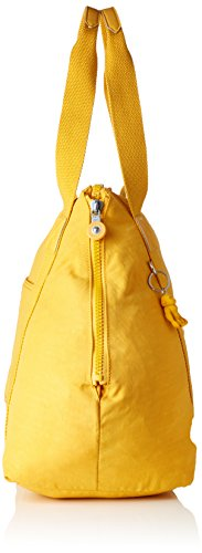 cm 58 amp; Yellow Art Bag Yellow Beach Kipling liters Canvas M 26 Tote Lively W0qB8R0C1w