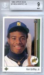 1989 Upper Deck #Ken Griffey Jr.. Baseball Rookie Card In Screwdown Case (1989 Upper Deck Ken Griffey Jr Rookie Card)