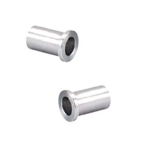 "(Pack of 2) Steel Spanner Flanged Bushing 1/2"" ID x 5/8"" OD x 1-3/16"" Long"