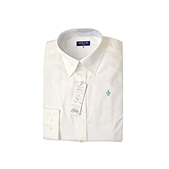5e047e731bac21 (ミッシェルクラン)MICHELKLEIN レディース レギュラーシャツ (12)オフホワイト L MKS301