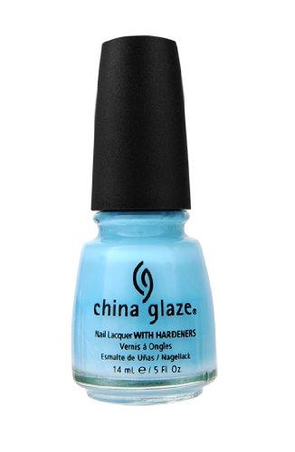 nail polish china glaze blue - 2