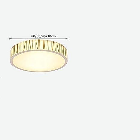 MJY Lámparas de luz de techo LED de techo redondo Sala de ...