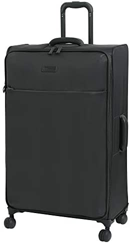 it baggage Lustrous Lightweight Expandable Spinner Wheels, Charcoal, Checked-X-Large 32-Inch