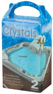Cover Valet Spa Crystals - Lavender- 32 oz ()