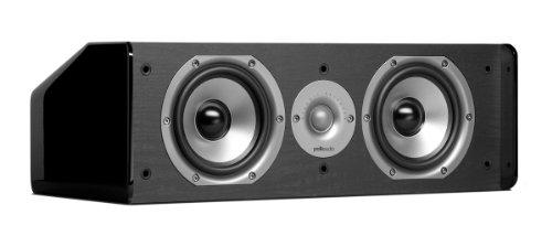 Polk Audio CS10 Center Channel Speaker (Single, Black) (Certified Refurbished) by Polk Audio