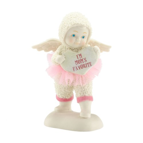 Department 56 Snowbabies I'm Mom's Angel Figurine, 10.54 inch