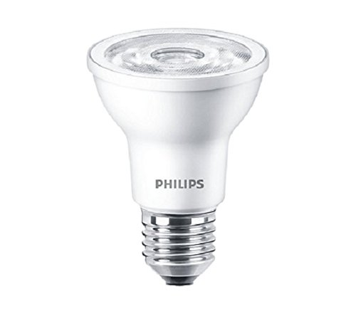 Philips Lighting 463646 PAR20 LED Lamp 6 Watt E26 Single Contact Medium Screw Base 480 Lumens 80 CRI 2700K Warm White ()