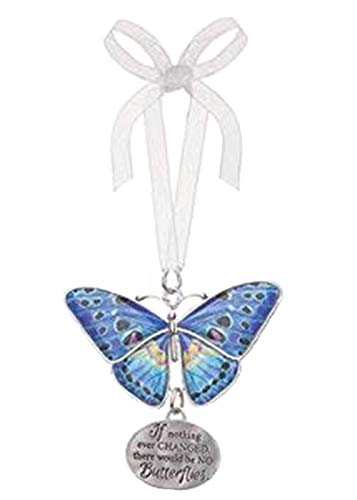 Ganz Home Decor Christmas/Spring Blissful Journey Butterfly Ornament (If Nothing Ever Changed.NO Butterflies EA13555)