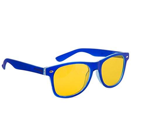 Correction soleil uV400 unisexe lentilles nuit protection soleil entièrement driving füllend Rubi Night jaune Blue hommes marron lunettes 4sold écaille de de femmes lunettes SxdFvpdwq
