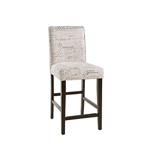 Home Fare Upholstered Square Back 24