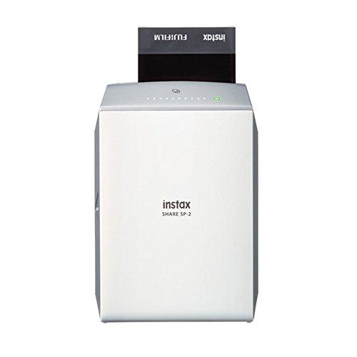 31c0oj4bhvL - NEW Fujifilm instax SHARE Smartphone Printer SP-2 (Gold) + Fujifilm Instax Mini Twin Pack Instant Film (40 Shots) + Photo4Less Cleaning Cloth + Filming Bundle - International Version (No Warranty)