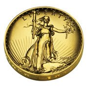 - 2009 Ultra High Relief Double Eagle Gold Coin
