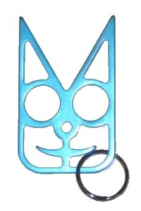 Safety Cat Women S Self Defense Keychain Teal Buy Online In