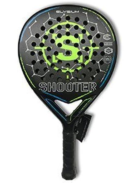 Shooter Padel Elysium, Pala de Padel Profesional: Amazon.es: Deportes y aire libre
