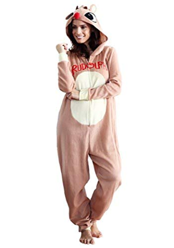 MJC International Group, LLC Women's Rudolph Pajama Costume X-Large -