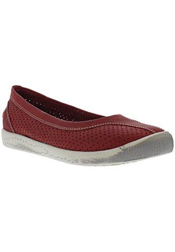 SoftinosIol389sof, Zapatos de Tacón Mujer Red