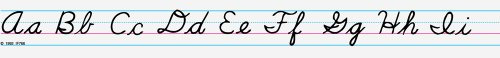 - Contemporary Cursive Desk Tape