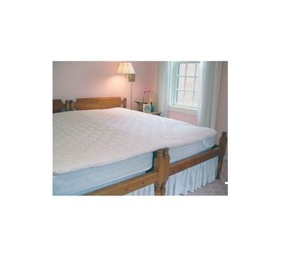 KingMaker 2 Inch Twin Bed Connector Mattress Pad by Kingmaker