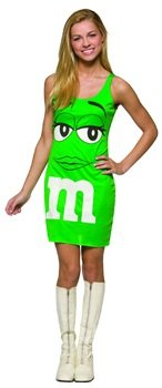 M&M Tank Dress (Green) Teen Accessory Size 13-16