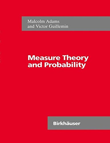 Measure Theory and Probability (The Wadsworth & Brooks/Cole Mathematics Series)