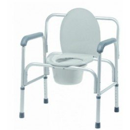 Lumex 2190A Bariatric 3-in-1 Aluminum Commode, Case of 2 by Lumex (Image #1)