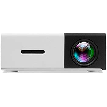 Mini Projector, DeepLee DP300 Portable LED Projector Home Cinema Theater with PC Laptop USB/SD/AV/HDMI Input Video Projector for Movie Video Game Home ...