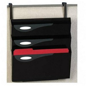 (Rubbermaid Classic Hot File 4-Pocket Hanging Files for Partitions, Legal/Printout)