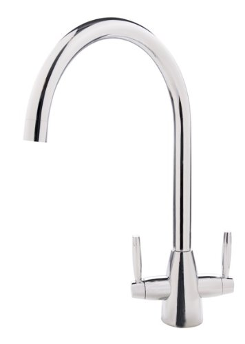 Vicario Armando Rubicon Dual Lever High Neck Kitchen Tap Amazon Co