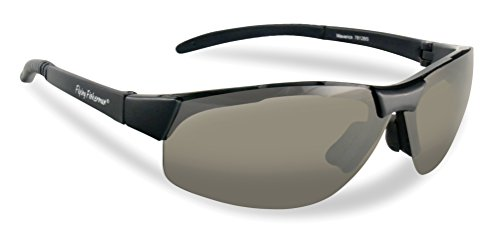 Flying Fisherman Maverick Polarized Sunglasses (Matte Black Frame, Smoke - Sunglasses Fisherman