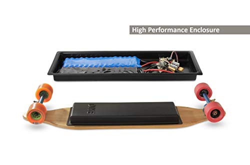 DIYE Electric Skateboard Battery & Electronics Customizable & Scratch-Proof Battery Enclosure