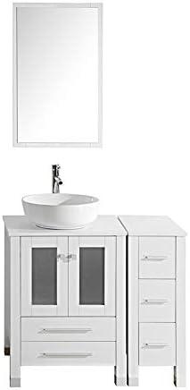 TONYRENA Modern 36″ Bathroom Vanity Set