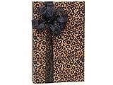 Classic Designs Gift Wrap - Leopard Safari 24''x417' (Kraft) Gift Wrap Counter Roll (1 roll) - WRAPS -A3302H24