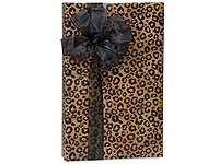 """Leopard Safari Spots Gift Wrapping Paper Roll 24"""" x 15"""" - Everyday Gift Wrap Paper"""