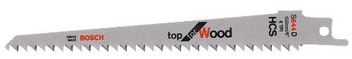 2608650551 Sabre Saw Blade ''S 644 D'' 100Piece by Bosch