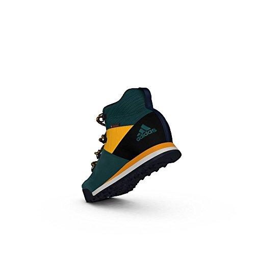 Adidas - Tecgrncblacksogold CW Snowpitch K - AQ6567 - Colore: Giallo-Verde - Taglia: 38.0