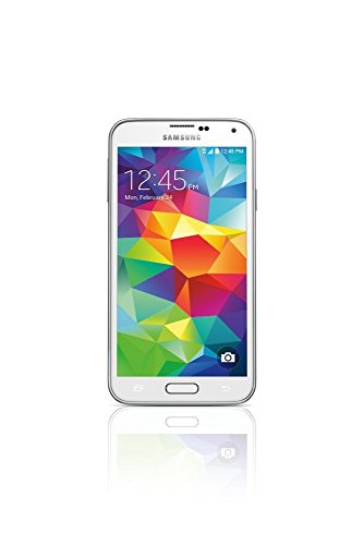 Samsung Galaxy S5 Shimmery White - No Contract Phone (U.S. Cellular) by Samsung