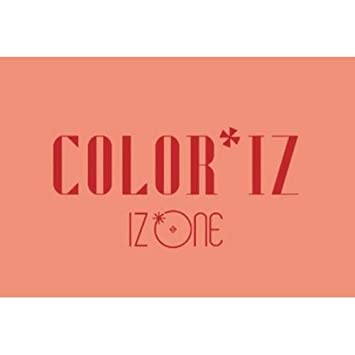 IZONE [COLOR*IZ] 1st Mini Album ROSE CD+POSTER+PhotoBook+PhotoCard+Tracking  Number K-POP SEALED