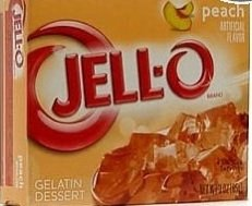 Peach Jell-O Gelatin Dessert 3-oz box (Set of 3)