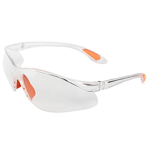 YOEDAF Safety Eye Protection Glasses Windproof Dustproof Protective Eyewear Outdoor Sport Glasses Anti-UV Motorcycle Goggles for Men and Women (White)