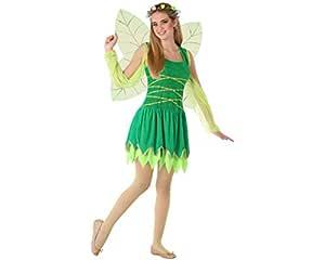 Atosa-61614 Atosa-61614-Disfraz Hada- ADOLESCENTE- Mujer- verde ...