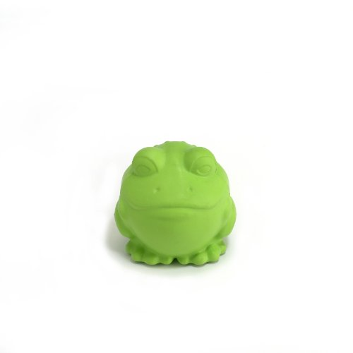 JW Pet Company Darwin the Frog Dog Toy, Small (Colors Vary)